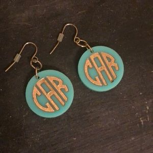 Jewelry - Monogram Earrings